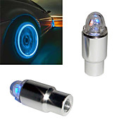 Super Bright Blue Flashing LED Tire Light (2-Pack)