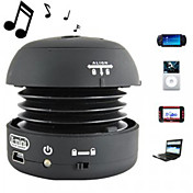Mini Portable Sphere Speaker (Black)