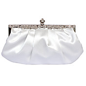 Gorgeous Matte Silk Evening Bag Handbag Purse Clutch (0438-6937). More Colors Available