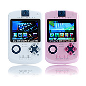 2.4 Inch Game MP4 Player with Digital Camera (1GB, White/Pink)