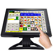 15 polegadas touch screen lcd com vga (hv22)