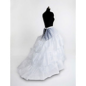 Nylon Chapel Train 3 Tier Floor-length Slip Style/ Wedding Petticoats