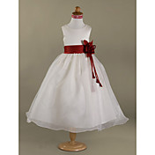Satin Flower Girl Ribbon Sash