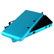 caso de proteccin de aluminio para 3ds (azul)