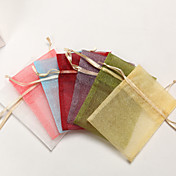 Shimmering Organza Favor Bag – Set of 24 (More Colors)