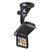 HD 720P Car DVR + Vehicle Black Box with AV Out + Auto-Recording