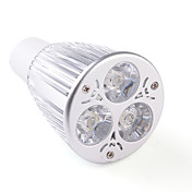GU10 9W 850LM 3000-3500K Warm White LED Spot Bulb (85-265V)