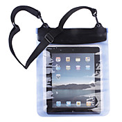 Wasserdichte Tasche fr Apple iPad 2/iPad/Playbook/Xoom/Streak/Andfere Tablet PCs (Blau)