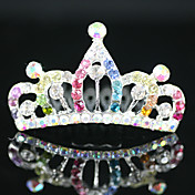 splendida ragazza cubi matrimonio zirconia fiore tiara / copricapo colori pi disponibile