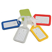 Travel Luggage Tag (Assorted Colors)