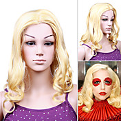 Capless Lady Gaga Celebrity High Quality Synthetic Wig