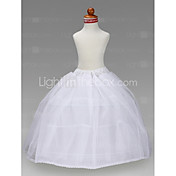 Blumenmdchen Taft Ballkleid 3 Tier bodenlange slip style / Hochzeit Unterrcke