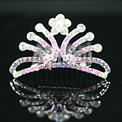 bella cz zirconia cubico ragazza nozze fiore tiara colori / copricapo pi disponibile