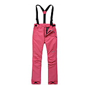 Eamkevc - Waterproof Womens Ski Pant with Detachable Suspender