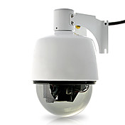 mini dome ip-kamera (väderbeständig, PTZ kontroll, 3x optisk zoom, wifi)