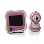 Wireless Baby Monitor with 3.5 Inch LCD Screen and Remote Control (Night Vision, Real Time Audio)