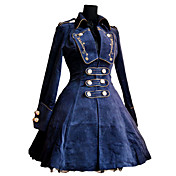 Roman Woolen Rose Pattern Embroidery Classic Lolita Coat