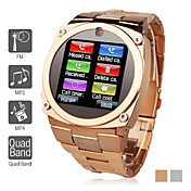 briljant - 1,6 inch watch mobiele telefoon (bluetooth, mp3/mp4-speler)
