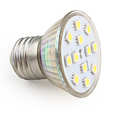 E27 2W 180LM 8000K Cold White Light LED Spot Bulb (110V)