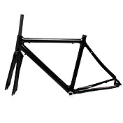 Shuffle - 700C Feather Light Full Carbon Road Racing Frame with Fork
