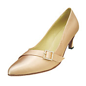 Customize Performance Dance Shoes Satin Upper Modern Shoes for Women