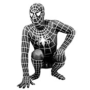 pura lycra color Zentai Zentai inspirado por spiderman