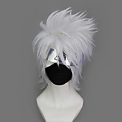 Cosplay Wig Inspired by Naruto Hatake Kakashi