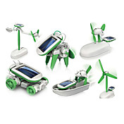 Robot Solar 6 en 1 (Verde)