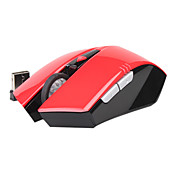 SOUND FRIEND 2.4GHz Wireless Mouse -10M Wireless Receiver/800 To 1200 DPI optical sensor(red)