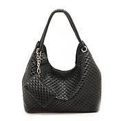 Fashion Women's Braided PU Handbag With Coin Purse