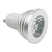 GU10 RGB 1-LED Spotlight (48mm, 3W, 85-265V)
