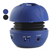 Mini Portable Sphere Speaker (MicroSD Reader, Assorted Colors)