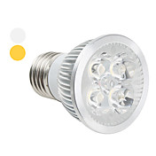 E27 White 4-LED Spotlight (48mm, 4W, 85-265V)