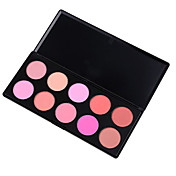 Finding Color 10 Colors Makeup Blush Blusher Powder Palette