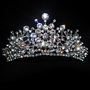 Rhinestone Splash Wedding Tiara