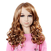 Capless Long Top Grade Synthetic Elegant Curly Children's Wig