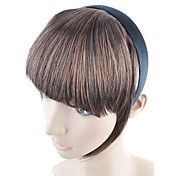 Headband Style Synthetic Hair Bang with Temples - 4 Colors Available