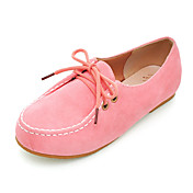 Suede Lace-up Flats (More Colors)