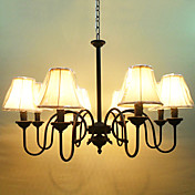 Chandelier with 8 Lights in Antique Style
