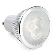 Dimmable GU10 6W 550-600LM 5500-6500K Natural White Light LED Spot Bulb (220V)