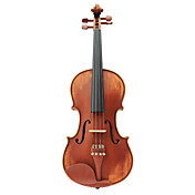 Semi-Handmade Solid Spruce Violin with Case/Bow/Rosin (Multi-Size)