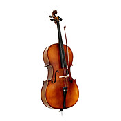 Satin Solid Wood Cello with Stand (Italian Style)