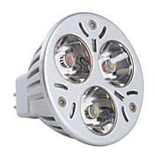 GU5.3 3W 270LM 3000-3500K Warm White Light LED Spot Bulb (12V)