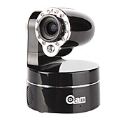 coolcam - 3x optisk zoom trådløs PTZ IP-kamera (2-vejs audio, IR-cut)