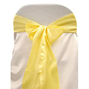 7.8&quot; Beautiful Satin Chair Sash  Set of 6 (More Colors)
