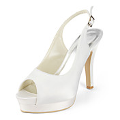 NORIKO - Slingbacks Bryllup Stilet Hl Satin