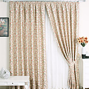 (Two Panels) Memorable Country Energy Saving Curtains