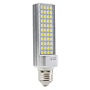 E27 7W 44x5050 SMD 450-500LM Natural White Light LED Corn Bulb (110-240V)