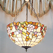 Tiffany Pendant Light with 3 Lights