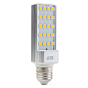 E27 3.5W 20x5050 SMD 200-250LM 2500-3500K Warm White Light LED Corn Bulb (110-240V)